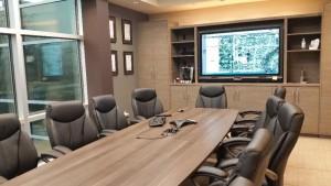 The Hsu Law Office boardroom